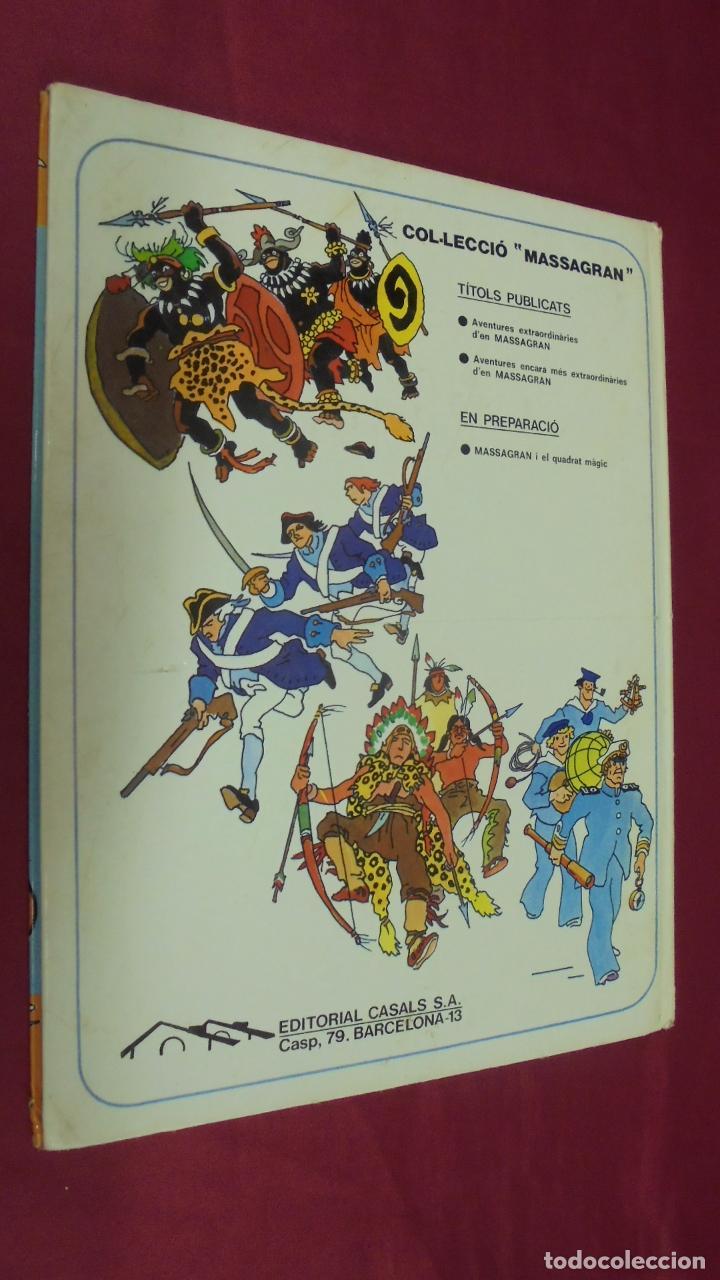 Cómics: MASSAGRAN. Nº 2. AVENTURES ENCARA MÉS EXTRAORDINARIES D'EN MASSAGRAN. EDITORIAL CASALS. EN CATALÁ. - Foto 8 - 61439231