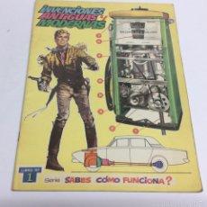 Comics - INVENCIONES ANTIGUAS Y MODERNAS, ¿SABES COMO FUNCIONA? Nº 1 AÑO 1972 - 61485165