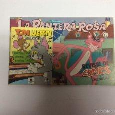 Cómics: LA PANTERA ROSA Nº 12 MULTILIBRO 1986 + MINI REVISTA TOM Y JERRY **. Lote 61544622