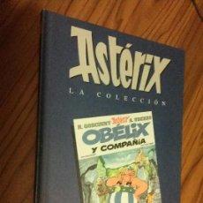 Cómics: ASTERIX. OBELIX Y COMPAÑÍA. GOSCINNY. A. UDERZO. SALVAT. TAPA DURA. EDICIÓN RARA. . Lote 61700700