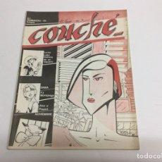 Cómics: COUCHE - CONTIENE HISTORIAS CORTAS COMPLETAS, UN REPORTAJE DE 8 PAGINAS SOBRE LUCKY LUKE 1985. Lote 155863241
