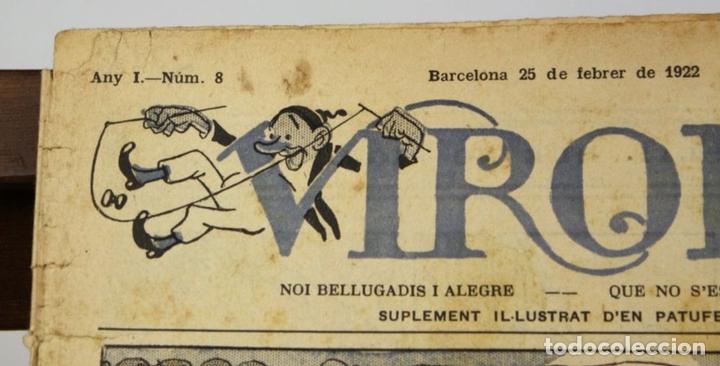 Cómics: 8018 - SUPLEMENTOS VIROLET. 95 EJEMPLARES(VER DESCRIPCIÓN). EDIC. BAGUÑA. 1922/25. - Foto 5 - 62054052