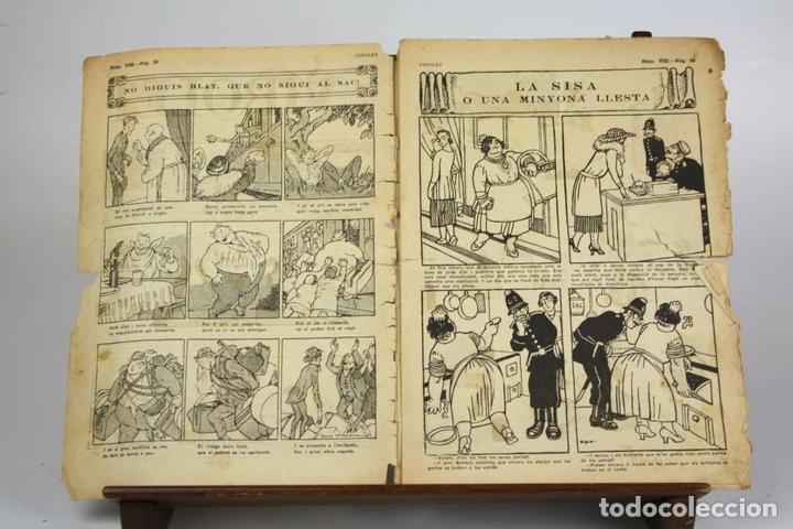 Cómics: 8018 - SUPLEMENTOS VIROLET. 95 EJEMPLARES(VER DESCRIPCIÓN). EDIC. BAGUÑA. 1922/25. - Foto 6 - 62054052