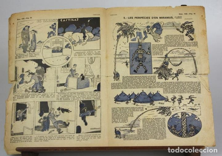 Cómics: 8018 - SUPLEMENTOS VIROLET. 95 EJEMPLARES(VER DESCRIPCIÓN). EDIC. BAGUÑA. 1922/25. - Foto 7 - 62054052