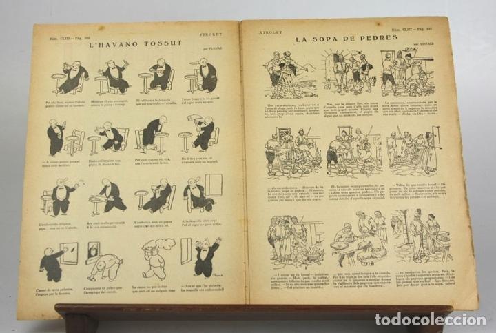 Cómics: 8018 - SUPLEMENTOS VIROLET. 95 EJEMPLARES(VER DESCRIPCIÓN). EDIC. BAGUÑA. 1922/25. - Foto 11 - 62054052