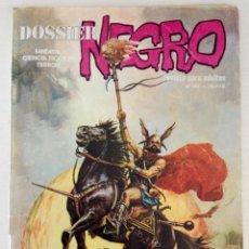 Cómics: DOSSIER NEGRO NÚMERO 144 BERNAL 1970. Lote 62119792