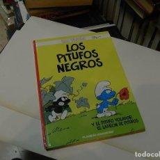 Cómics: PEYO, LOS PITUFOS, LOS PITUFOS NEGROS, AGOSTINI. Lote 62174884