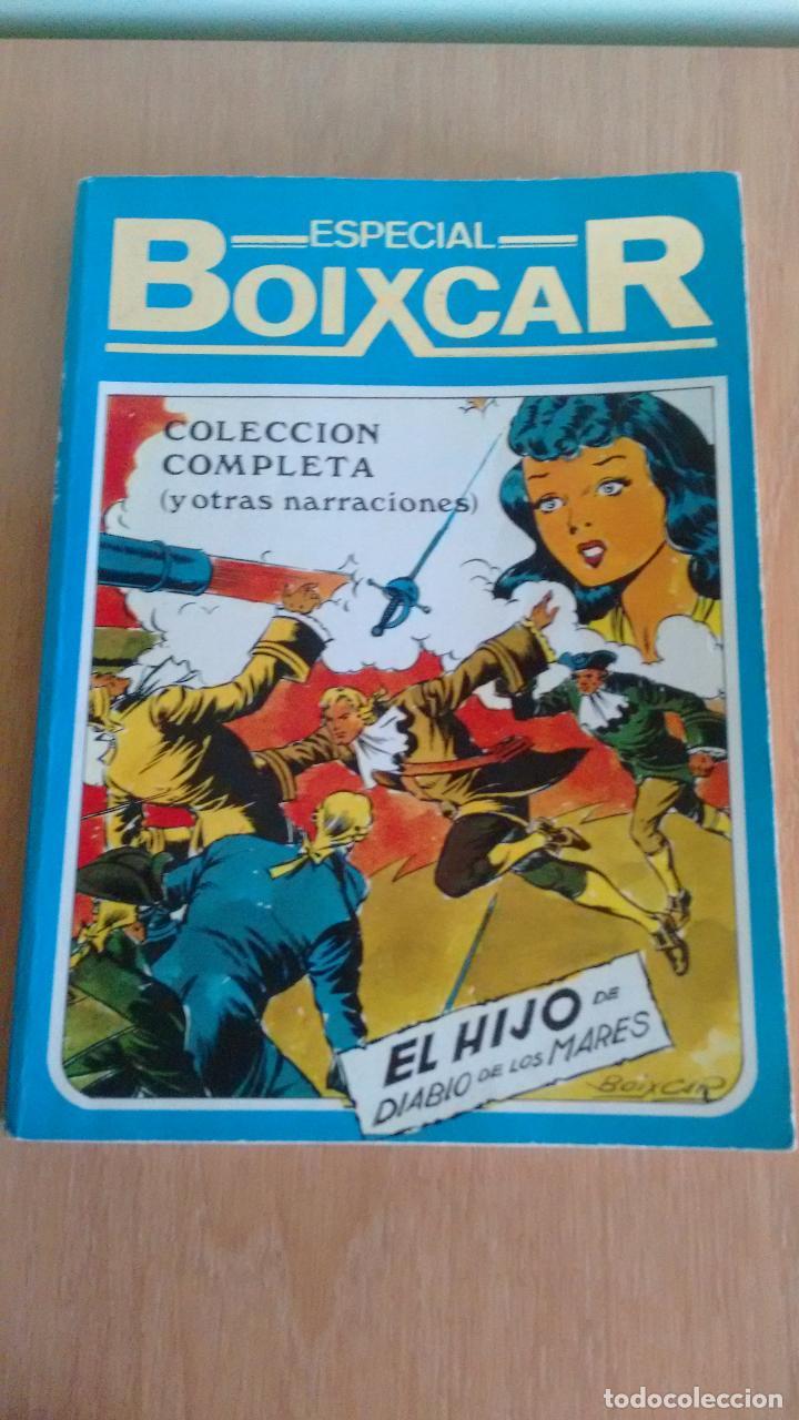 LA HISTORIETA PRESENTA 1 TOMO EL HIJO DEL DIABLO DE LOS MARES. ESPECIAL BOIXCAR. URSUS 1982. (Tebeos y Comics - Comics Pequeños Lotes de Conjunto)