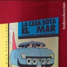 Cómics: LES AVENTURES D´EN PERE VIDAL 3 - LA CASA SOTA EL MAR - MADORELL - ED. CASALS - CARTONE- EN CATALAN. Lote 62361476