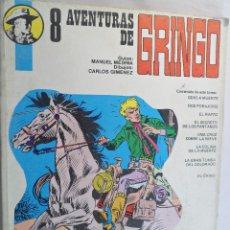 Cómics: 8 AVENTURAS DE GRINGO. MANUEL MEDINA - CARLOS GIMENEZ.. Lote 62364844