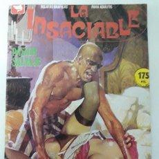 Cómics: LA INSACIABLE. Lote 62404100