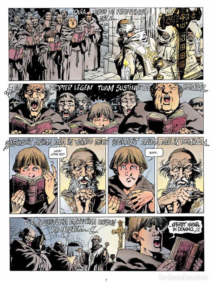 Cómics: Cómics. CRONICAS BARBARAS 01. LA FURIA DE LOS VIKINGOS - Jean-Yves Mitton (Cartoné) - Foto 2 - 111622639