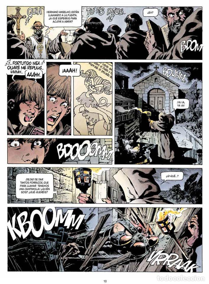 Cómics: Cómics. CRONICAS BARBARAS 01. LA FURIA DE LOS VIKINGOS - Jean-Yves Mitton (Cartoné) - Foto 3 - 111622639