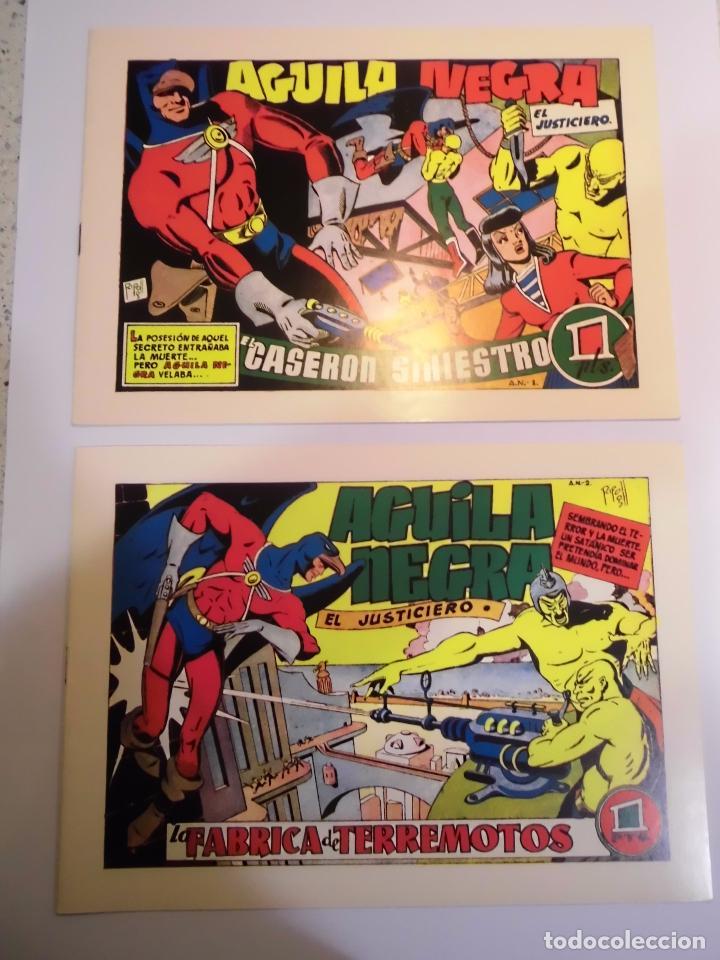AGUILA NEGRA - 8 COMICS - COLECCION COMPLETA - FACSIMIL - NUEVOS (Tebeos y Comics Pendientes de Clasificar)