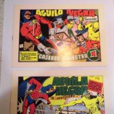 Cómics: AGUILA NEGRA - 8 COMICS - COLECCION COMPLETA - FACSIMIL - NUEVOS. Lote 62683748