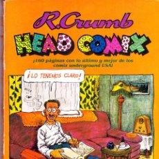 Cómics: LOS 4 ALBUMS DE ROBERT CRUMB DE EDICIONES PASTANAGA. 1978. Lote 214712311