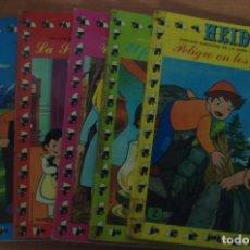 Cómics: LOTE DE 8 TOMOS HEIDI. EDICIONES RECREATIVAS 1975.. Lote 62725508