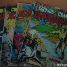 Cómics: LOTE DE 10 COMICS FLASH GORDON. COLOSOS DEL COMIC. EDITORIAL VALENCIANA.. Lote 62728684