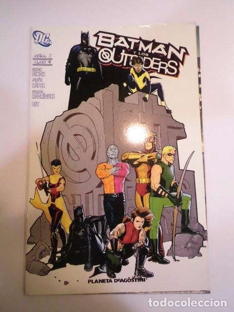 BATMAN Y LOS OUTSIDERS DE DC - NUMERO 1 - PLANETA - NUEVO (Tebeos y Comics - Comics otras Editoriales Actuales)