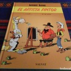 Fumetti: LUCKY LUKE EL ARTISTA PINTOR 1ª PRIMERA EDICIÓN. SALVAT 2001. MUY BUEN ESTADO Y DIFÍCIL.. Lote 62873440