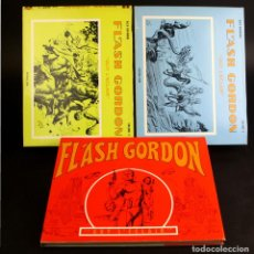 Cómics: 8081 - FLASH GORDON. 3 VOLÚMENES(VER DESCRIP). ALEX RAYMOND. EDIT. SERG. 1968/1973.. Lote 63110448