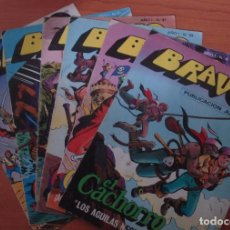 Cómics: LOTE DE 6 COMICS BRAVO. EL CACHORRO. EDITORIAL BRUGUERA. . Lote 63113808