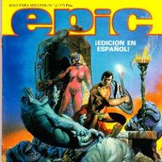 Cómics: EPIC ILLUSTRATED. MARVEL. 1 AL 3. LOS 3 NUMEROS EDITADOS EN CASTELLANO POR DISTRINOVEL. 1982. Lote 63156464
