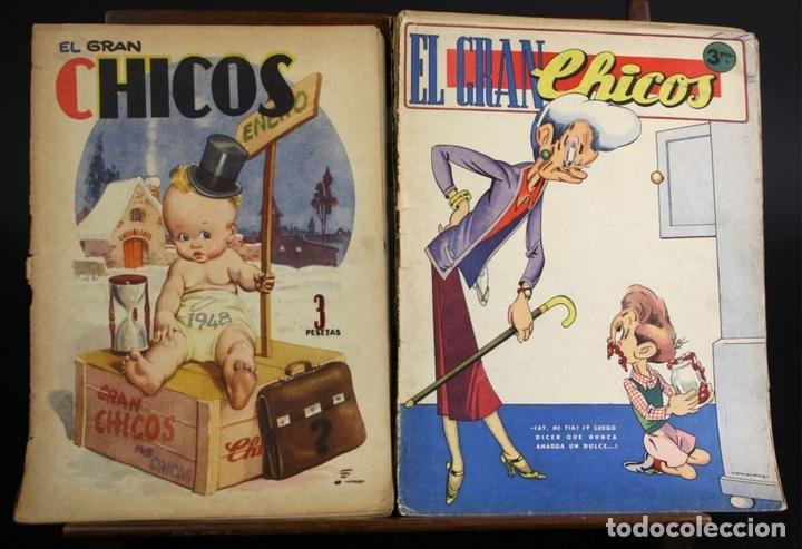 Cómics: 8088 - CHICOS. 209 EJEMPLARES (VER DESCRIP). VV. AA. TALLERES OFFSET. AÑOS 40-50. - Foto 9 - 63179196