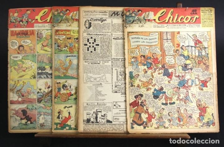 Cómics: 8088 - CHICOS. 209 EJEMPLARES (VER DESCRIP). VV. AA. TALLERES OFFSET. AÑOS 40-50. - Foto 13 - 63179196