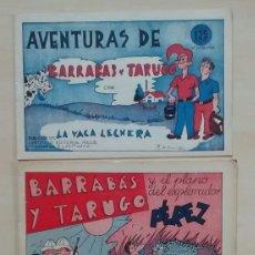 Cómics: BARRABÁS Y TARUGO - ED. REUS - 1947 / NÚMEROS 1, 2 Y 3 (COMPLETA). Lote 63298796