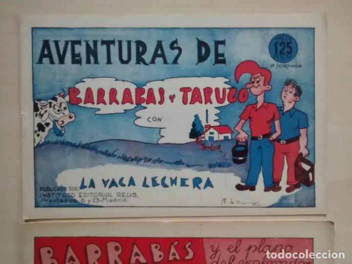 Cómics: Barrabás y Tarugo - Ed. Reus - 1947 / números 1, 2 y 3 (completa) - Foto 3 - 63298796