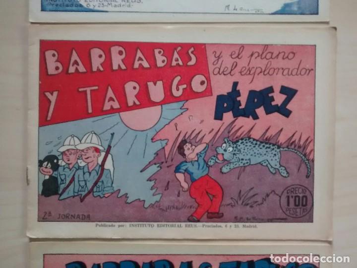 Cómics: Barrabás y Tarugo - Ed. Reus - 1947 / números 1, 2 y 3 (completa) - Foto 4 - 63298796
