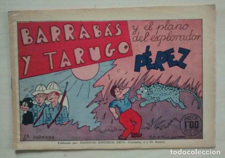 BARRABÁS Y TARUGO - Nº 2 - ED. REUS 1947 (Tebeos y Comics - Comics Pequeños Lotes de Conjunto)