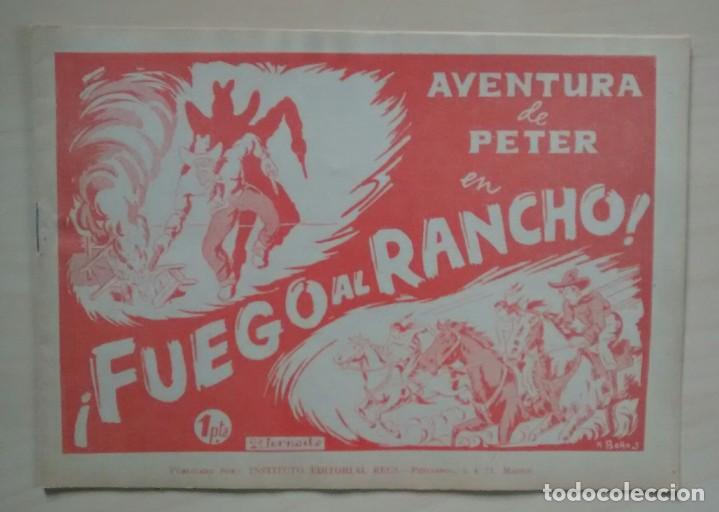 AVENTURA DE PETER - Nº 2 - ED. REUS -1947 (Tebeos y Comics - Comics Pequeños Lotes de Conjunto)
