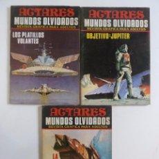 Cómics: PACK 3 REVISTAS GRÁFICA PARA ADULTOS ACTARES MUNDOS OLVIDADOS, Nº 3, 5 Y 8 PRODUCCIONES ED 1984 OFRT. Lote 108770506