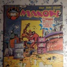 Cómics: COMIC - TEBEO - MAKOKI 2 - SÓLO PARA LELOS - SEGUNDA ÉPOCA - AVILÉS, VÁZQUEZ, BERNET, MANE - 1989. Lote 63507984