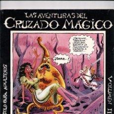 Cómics: LAS AVENTURAS DEL CRUZADO MÁGICO VOLUMEN II -PIRRÓN 1982-. Lote 187530788
