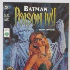 Cómics: BATMAN HIEDRA VENENOSA VID. Lote 64174443