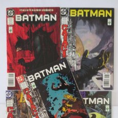 Cómics: BATMAN CATACLISMO PROLOGO 1,2,3,4 EDITORIAL VID. Lote 64175095