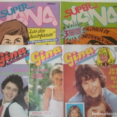 Cómics: LOTE DE 5 COMICS JANA Y GINA. IGUALES O PARECIDOS A LILY O ESTHER.. Lote 64401143