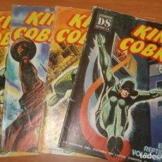 Cómics: LOTE DE 4 COMICS KING COBRA. EDITORIAL DALMAU SOCIAS. AÑO 1981.. Lote 64622003