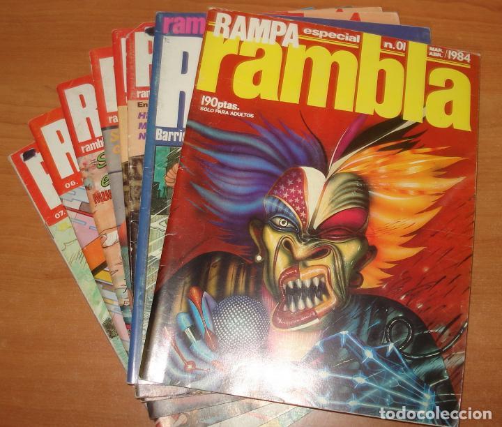 RAMPA RAMBLA. COLECCIÓN CASI COMPLETA. EDITORIAL GARCIA Y BEA. (Tebeos y Comics - Comics Colecciones y Lotes Avanzados)