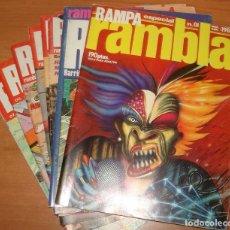 Cómics: RAMPA RAMBLA. COLECCIÓN CASI COMPLETA. EDITORIAL GARCIA Y BEA.. Lote 27275948