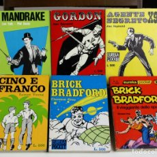 Cómics: 8146 - EDITORIAL CORNO. EUREKA POCKET. 6 EJEMPLARES(VER DESCRIPCIÓN). 1963/1976.. Lote 65253883