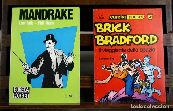 Cómics: 8146 - EDITORIAL CORNO. EUREKA POCKET. 6 EJEMPLARES(VER DESCRIPCIÓN). 1963/1976. - Foto 2 - 65253883