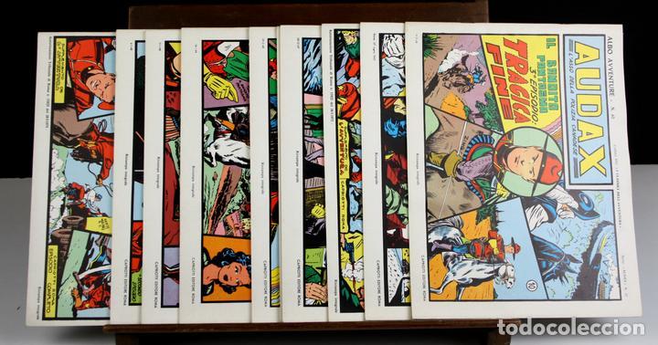 8148 - ALBO AVVENTURE. 10 EJEMPLARES(VER DESCRIP). EDIT. RODOLFO CAPRIOTTI. AÑOS 40/50. (Tebeos y Comics - Comics Pequeños Lotes de Conjunto)