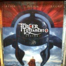 Cómics: EL TERCER TESTAMENTO: JULIUS TOMO I, DE ALEX ALICE, XAVIER DORISON Y ROBIN RECHT. GLENAT, AÑO 2010. Lote 65664002