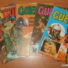 Cómics: LOTE DE 5 COMICS GUERRA. EDITORIAL VILMAR. AÑO 1978.. Lote 65983542