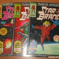 Cómics: LOTE DE 3 COMICS STAR BRAND. MARVEL. COMICS FORUM.. Lote 65985470