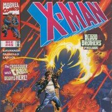 Cómics: X-MAN VOL.1 NO.45: CROSSING BORDER. Lote 66094401